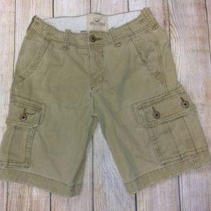 Mens Boys Hollister Cargo Shorts, Sz 28